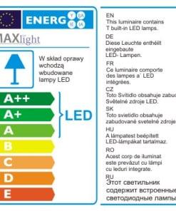 Apvalus įleidžiamas šviestuvas laiptams TIME IP54