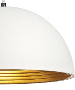 Pakabinamas SLV šviestuvas FORCHINI su aliuminio gaubtu