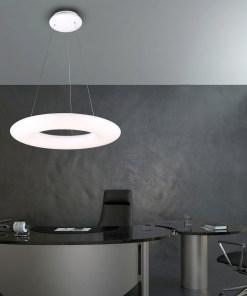 Pakabinamas žiedo formos šviestuvas CENTRO