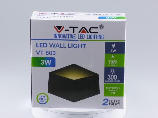 Sieninis šviestuvas V-TAC su Bridgelux lustu