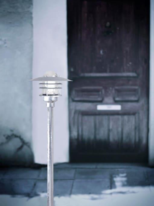 Pastatomas lauko šviestuvas AGGER