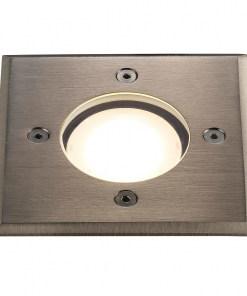 Kvadratinis grindinio šviestuvas PATO