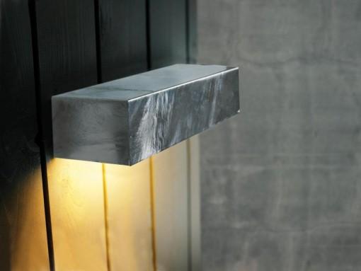 Sieninis paviršinis šviestuvas SQUARE MAXI
