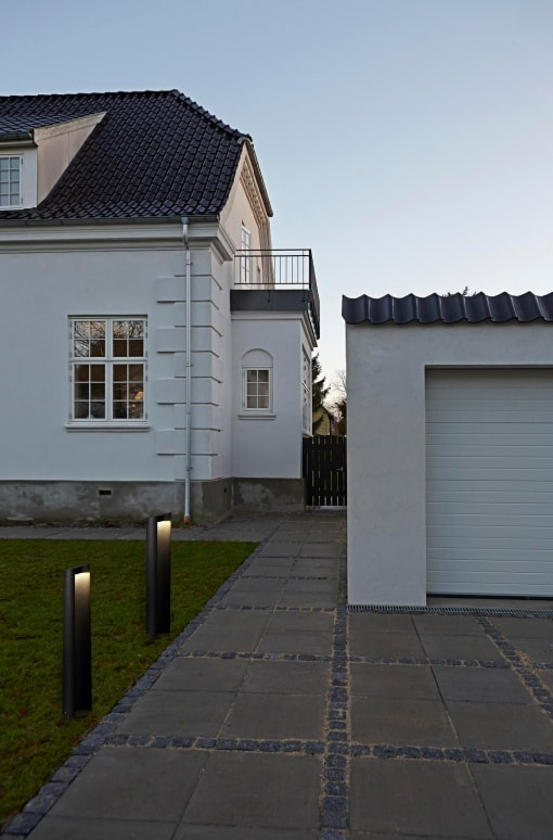 Skandinaviško dizaino lauko šviestuvas MINO 45