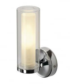 Sieninis paviršinis šviestuvas vonios kambariui SLV WL 105 WALL LIGHT