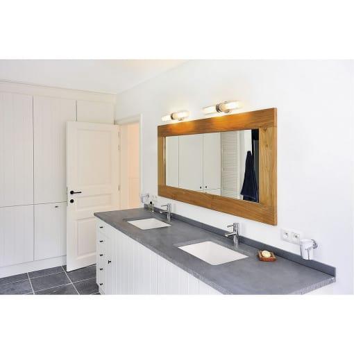 Sieninis paviršinis šviestuvas vonios kambariui SLV WL 106 WALL LIGHT