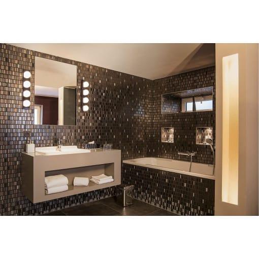 Sieninis šviestuvas vonios kambariui SLV VAYNISSA