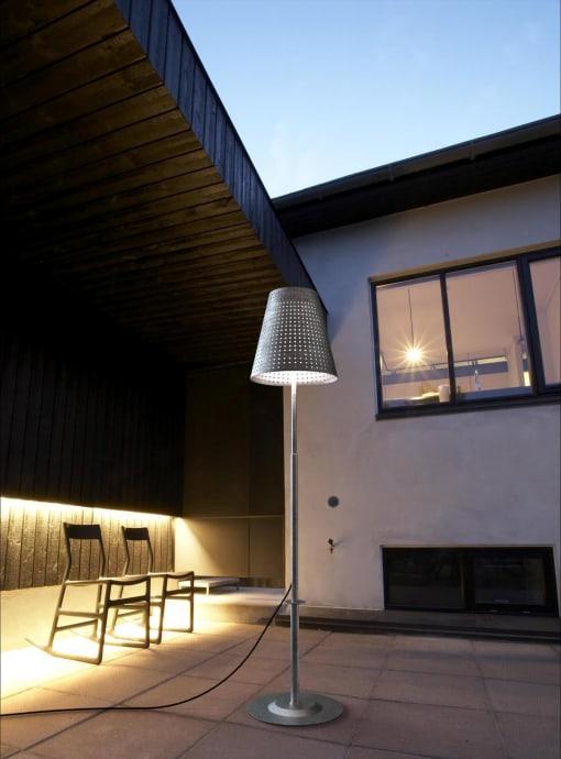 Lauko šviestuvas sodui ar terasai Nordlux DFTP FUSE
