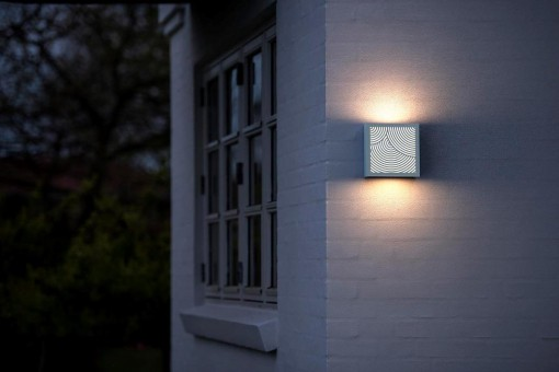 Sieninis lauko šviestuvas Nordlux DFTP MAZE BENDED