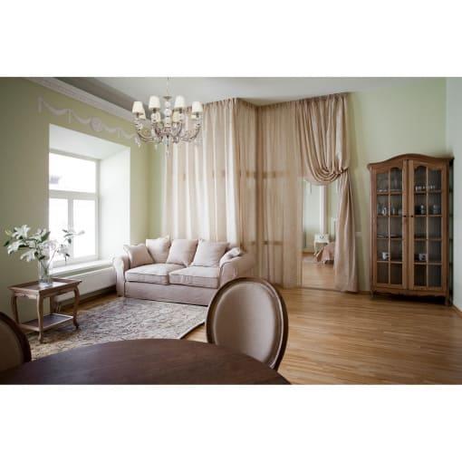 Sendintos baltos spalvos šviestuvas su stiklo papuošimu MW-LIGHT Elegance