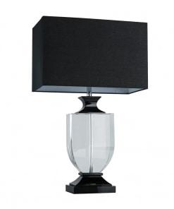 Stalo šviestuvas su juodu gaubtu CHIARO Elegance