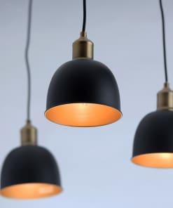 MW-LIGHT Industrial 6 lempų Metalasinis pakabinamas šviestvas