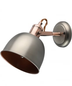 Metalinis sieninis šviestuvas MW-LIGHT Industrial