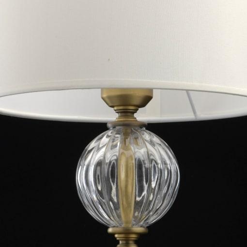 Žalvario spalvos klasikinis stalo šviestuvas CHIARO Classic