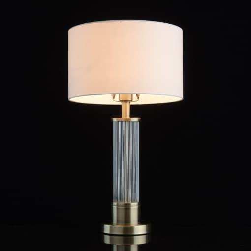 Stalinė lempa su stiklo stovu MW-LIGHT