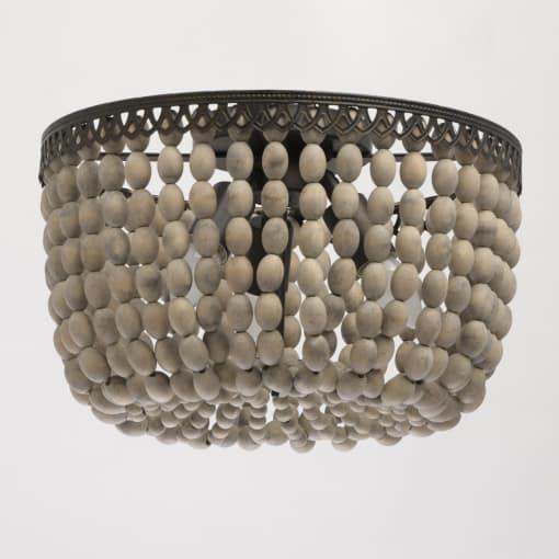 Lubinis šviestuvas su medžio papuošimu RegenBogen