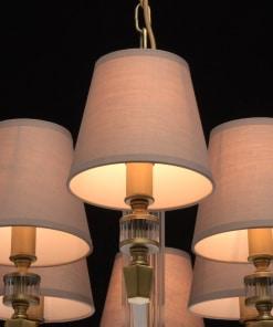 MW-LIGHT Neoclassic 8 lempų pakabinamas šviestuvas