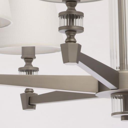 MW-LIGHT Neoclassic 6 lempų pakabinamas šviestuvas