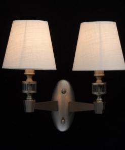 Sieninis šviestuvas su tekstilės gaubteliais MW-LIGHT Neoclassic