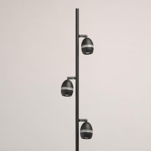 Modernus toršeras su reguliujama šviesos kryptimis DeMark Techno