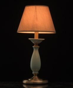 Stalo šviestuvas su keraminiais papuošimais MW-LIGHT