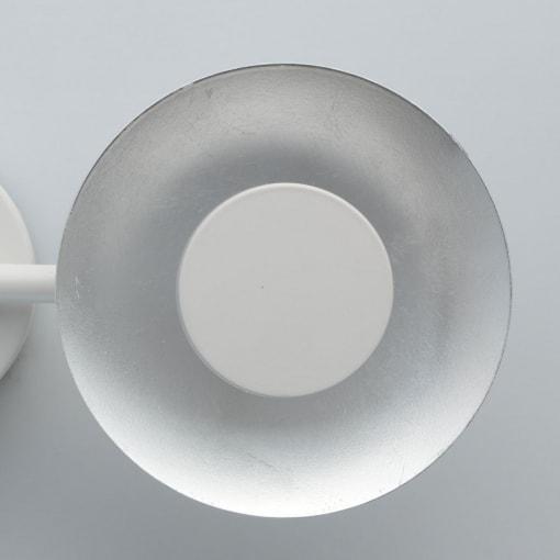 Paviršinis modernus LED šviestuvas su dvejais gaubteliais DeMartk