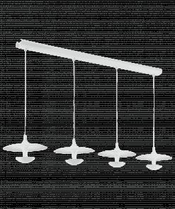 Pakabinamas LED šviestuvas su 4 lempomis TORONJA