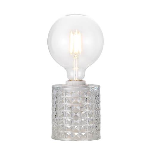 Stalo šviestuvas su stikliniu stovu Nordlux HOLLYWOOD