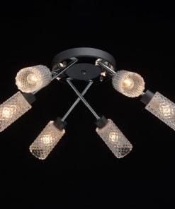 Lubinis šviestuvas su stiklo gaubteliai MEGAPOLIS