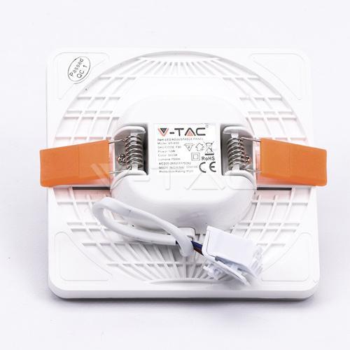 Kvadratine LED panelė su reguliuojama montavimo kojele V-TAC PRO