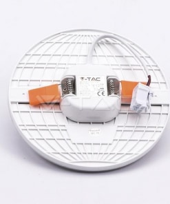 Apvali LED panelė su reguliuojama montavimo kojele V-TAC PRO