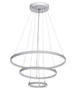 Žiedo formos LED šviestuvas su nuotoliniu valdymu De Markt