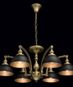 6 lempų klasikinis pakabinamas šviestuvas MW-LIGHT Classic