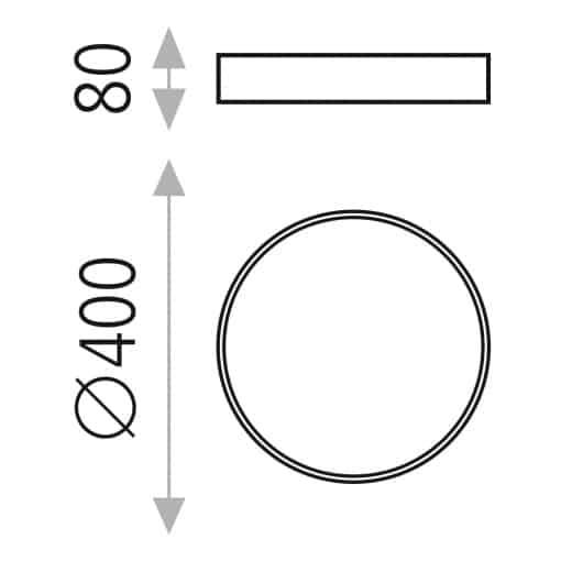 Modernus lubinis LED šviestuvas ACB MINSK