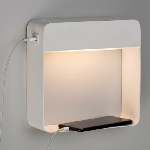 Sieninis šviestuvas miegamojo kambariui ACB DOBLE