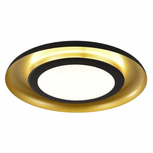 Juodos ir aukso spalvos lubinis šviestuvas ACB SHIITAKE