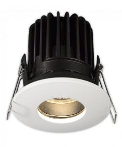 Atsparus vandeniui vonios kambario įleidžiamas LED šviestuvas ACB BIP