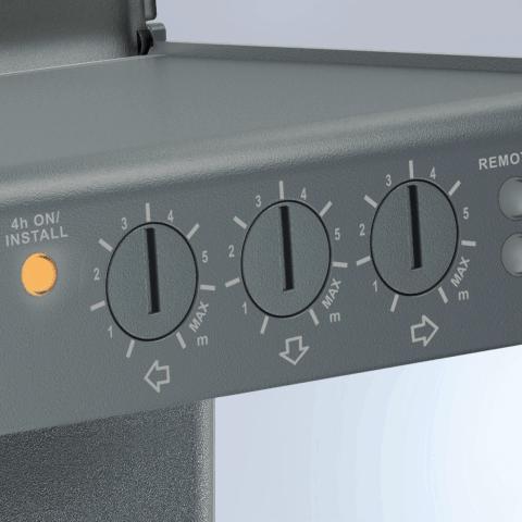 Radarinis judesio jutiklis iHF 3D  2000W IP54