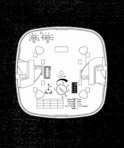 Paviršinio montavimo radarinis precizinis (būvio) judesio jutiklis koridoriams STEINEL DUAL HF COM1AP