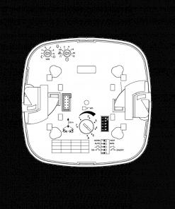 Įleidžiamas į lubas radarinis precizinis (būvio) judesio jutiklis koridoriams STEINEL DUAL HF COM1