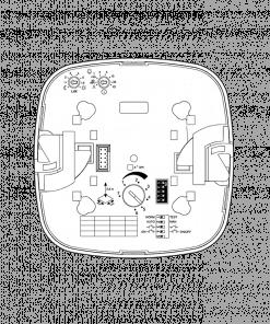 Įleidžiamas IR precizinis būvio j jutiklis IR QUATTRO HD COM1 patalpoms iki 8x8m