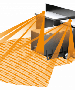IR judesio jutiklis SensIQ EVO 2500W IP54 pastato fasadui