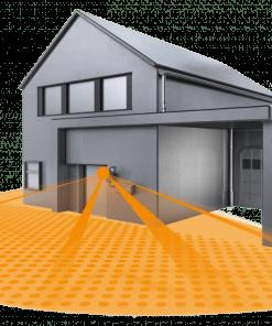Lauko ir patalpų IR judesio jutiklis IS 180-2 2000W IP54