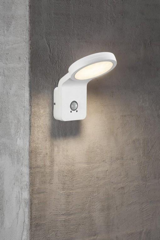 Sieninis šviestuvas su daviklius Nordlux MARINA FLATLINE