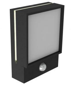 Sieninis lauko LED šviestuvas su judesio davikliu Nordlux EGON