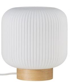 Stalo šviestuvas su medžio pagrindu Nordlux MILFORD