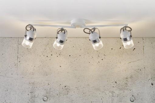 4 lempų kryptinis šviestuvas Nordlux AGNES