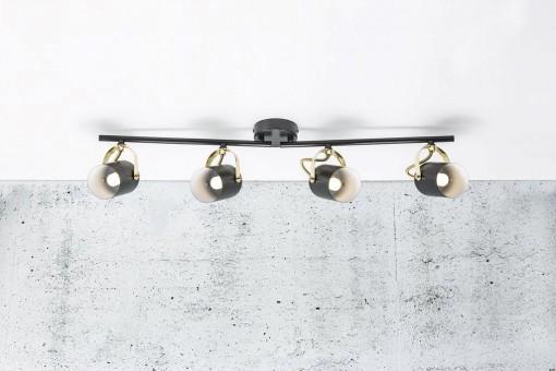 4 lempų kryptinis šviestuvas Nordlux LOTUS