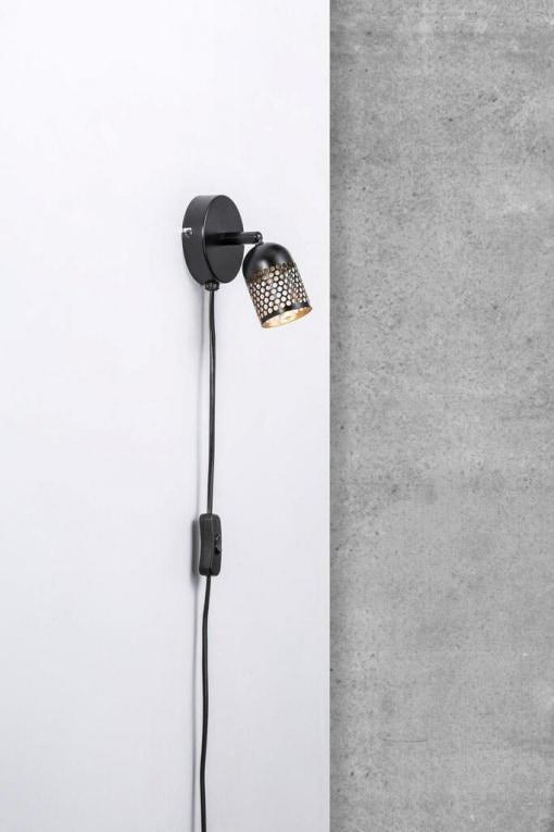 Metalinis sieninis šviestuvas Nordlux ALFRED