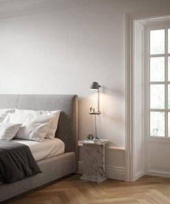 Sieninis šviestuvas su lentynėle Nordux DFTP STAY
